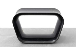 STOOL VOID BLACK MARBLE FROM MARQUINA