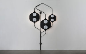 SCONCE EDALIGHT PAPER METAL CONCRETE LIGHTED