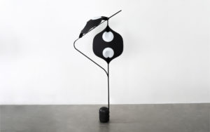FLOOR LAMP EDALIGHT PAPER METAL CONCRETE