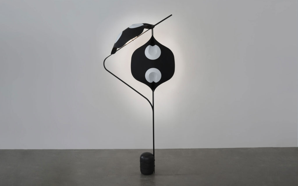 FLOOR LAMP EDALIGHT PAPER METAL CONCRETE LIGHTED