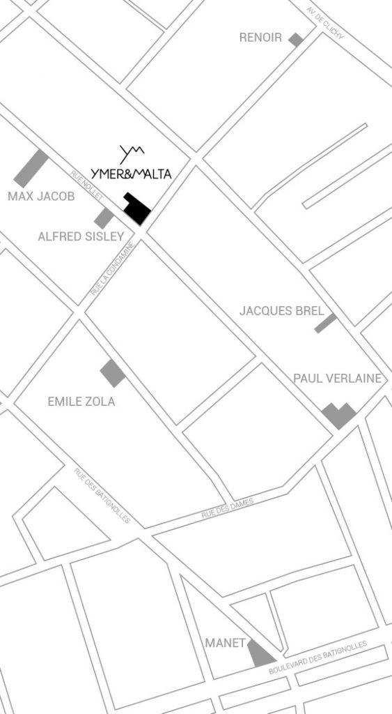 Ou se situe YMER&MALTA à PARIS